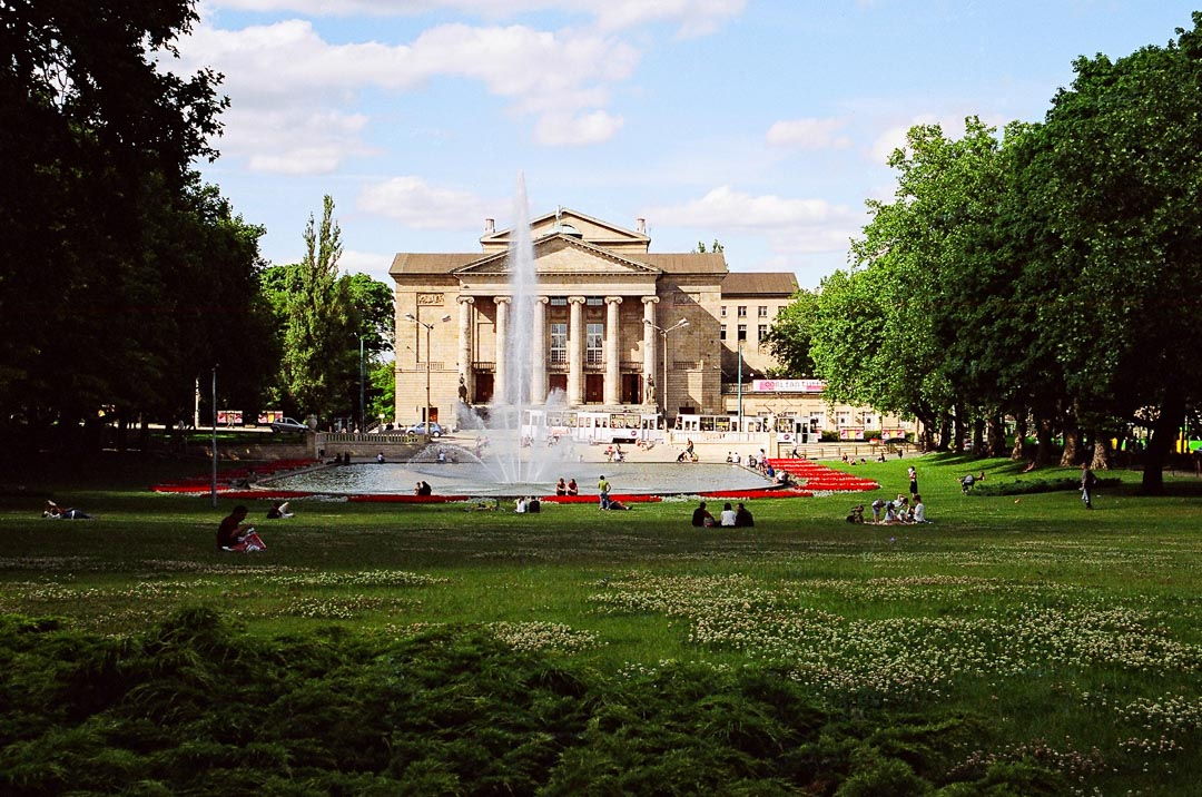 Park Mickiewicza w Poznaniu