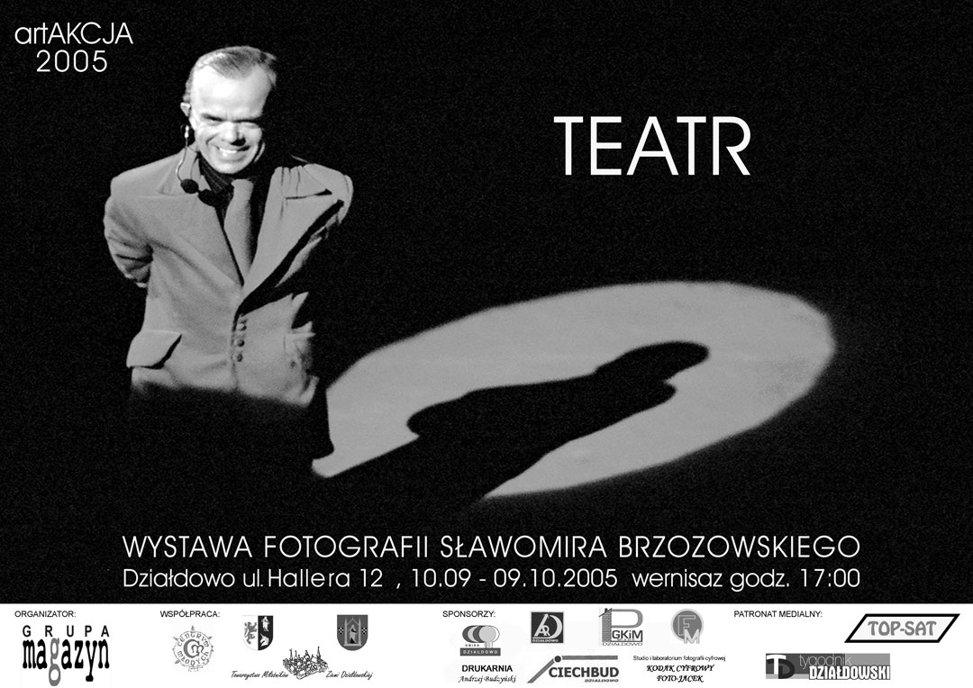 plakat wystawy fotograficznej